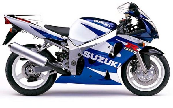 Product picture Suzuki GSXR600 manual 2001-2002