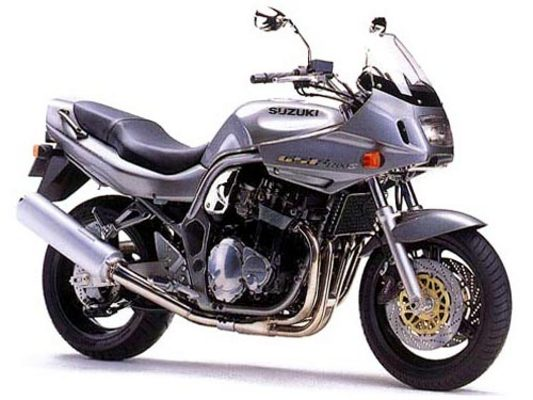 Product picture Suzuki bandit 1200 manual 1996-1999