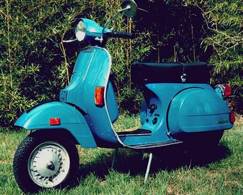 Product picture Vespa p200e Manual